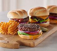 Rastelli Market Fresh (10) 5 oz. Black Angus Sirloin Burgers - M50890