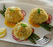 The Perfect Gourmet (8) 3 oz. Crab Cakes Auto-Delivery - M52190