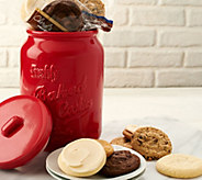 A-D Cheryls 18-Pc. Cookies in Mason Cookie Jar Auto-Delivery - M53990