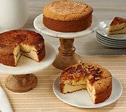 Ships 11/6 Judy Pound Cakes (3) 20 oz Southern Pound Cakes - M55290