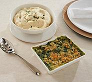 Ships 11/13 Martha Stewart (2) 2-lb Holiday Side Dishes - M56590