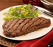 Kansas City Steaks (6) 10-oz Peppercorn and SeaSalt Strips - M106491