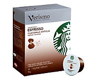 Starbucks 72-pc Verismo Espresso Guatemala Antigua Coffee Pods - M113491