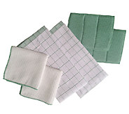 Don Asletts 6-Piece Microfiber Kitchen Towel Set - M114591