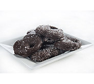 Landies Candies 18-pc Dark Chocolate Sea Salt Caramel Pretzels - M115091