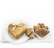 Landies Candies Valentines Day Gold ChocolateHeart Set - M115691