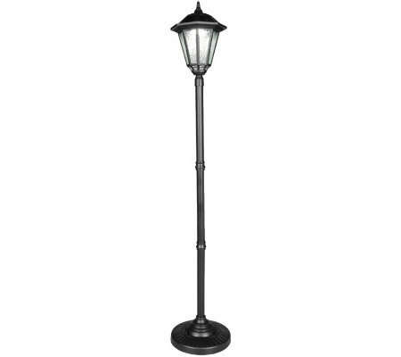 westinghouse 6 led solar light lamp post m21291. Black Bedroom Furniture Sets. Home Design Ideas