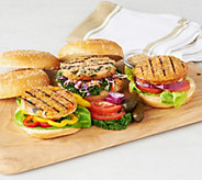 Graham&Rollins (24) 3.5 oz. Salmon Burger with Choice of Flavors - M46191