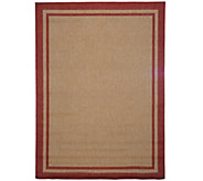 Veranda Living Colors 5x7 Double Border Indoor/Outdoor Reversible Rug - M52391