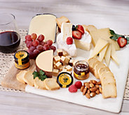 Worlds Best Cheeses Imported Four Cheese Sampler with Fig Spread - M54591