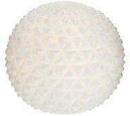 Barbara King Indoor/Outdoor 9 Illuminated Sandstone Sphere - M54891