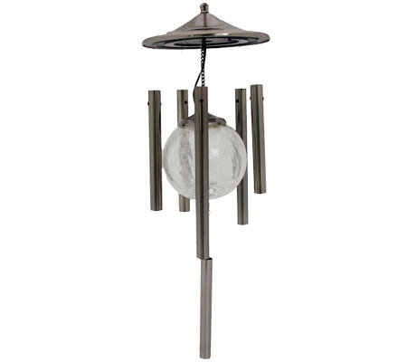 Solar Powered Color Changing Wind Chime By Flipo Qvc Com