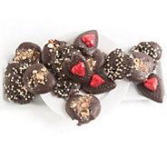 Landies Candies 16-pc Valentines Day Dark Chocolate Pretzels - M115192