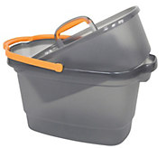 Casabella 4-Gallon Bucket with Nesting StorageCaddy - M115292