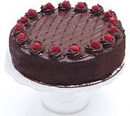 Davids Cookies Chocolate Raspberry Ganache Cake - M116492