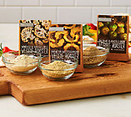 Urban Accents Set of 6 Veggie Roasters Seasonings - M46892