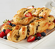 Authentic Gourmet (18) French Chocolate Custard Twists - M47692