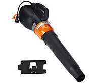 Worx Turbine High Capacity Leaf Blower w/ Wall Mount - M50792