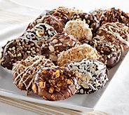 Ships 12/5 Landies Candies 18pc Candy Shop Chocolate Pretzels - M51192