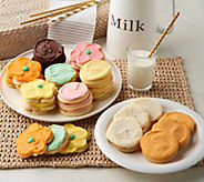 Ships 4/3 36 Piece Spring Frosted Cookie Assortment - M54192