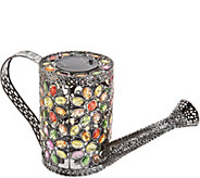 Plow & Hearth Jeweled Crystal Decorative Watering Can - M55792