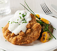 Heartland Fresh (18) 4.5-oz Country Fried Steaks & Gravy Auto-Delivery - M58692