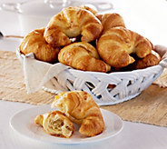 Authentic Gourmet 20 Jumbo Curved French Croissants - M51593