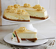 Ships 12/5 Juniors 5 lb. Pumpkin Pie Cheesecake - M52393