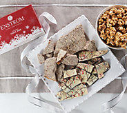 Enstroms 3 Piece Toffee, Bark, & Popcorn Holiday Gift Box - M52493
