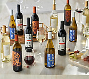 Martha Stewart Wine Co. 12 Bottle Set - M57693