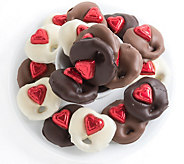 Landies Candies 18-pc Valentines Day ChocolatePretzel Trio - M115194