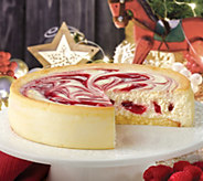 Juniors 8 Raspberry Swirl Cheesecake - M115594