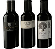 Medium Red Wine Blends 6-Bottle Set by VintageWine Estates - M115894