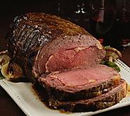 Kansas City Steak Company 4-4.5 lb Garlic & Herb Rub Prime Rib - M116594