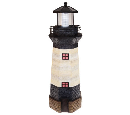 "Westinghouse 30"" Decorative Solar Powered Lighthouse"