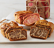 Strawberry Hill (6) 1 lb. Swirled Holiday Breads with Gift Boxes - M45794