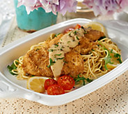 The Perfect Gourmet (10) 4 oz. Chicken Piccata with Sauce - M54694