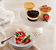Ships 12/5 Juniors (18) 4 oz. Mini Cheesecake Holiday Assort. - M51195