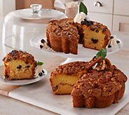 Ships 12/5 My Grandmas (2) 28 oz. Coffee Cakes in Gift Boxes - M51295