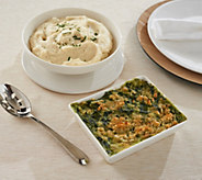 Ships 12/11 Martha Stewart (2) 2-lb Holiday Side Dishes - M56595