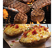 Kansas City Filet Mignon, Strip Steak, & BakedPotato BBQ - M113796