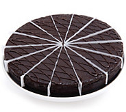 Davids Cookies No Sugar Added Classic Chocolate Truffle Cake - M116496