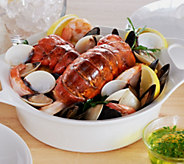 Lobster Gram 2 lb. Ultimate Seafood Bake w/ (2) 5-6 oz. Lobster Tails - M50396