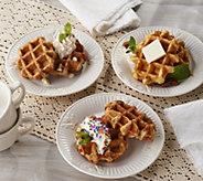 Ships 12/4 Waffle Waffle (15) 2.25-oz Liege Waffle Assortment - M57096