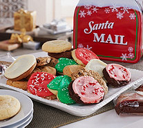 Ships 11/7 Cheryl's 30pc. Full-Size Cookies in Holiday Mailbox - M51197