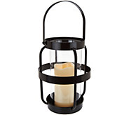 Scott Living 14 Open Metal Cage Lantern with Handle - M52197
