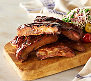 Corkys BBQ 6 lbs. of Center Cut Rib Pieces in Sauce - M53197