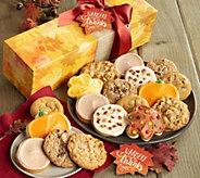 Cheryls Warmest Thanks 18-Piece Fall Cookie Box - M116698