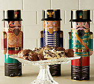 Harry London (3) 16 oz. Nutcracker Tins Filled with Chocolate - M47799