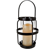 Scott Living 18 Open Metal Cage Lantern with Handle - M52199